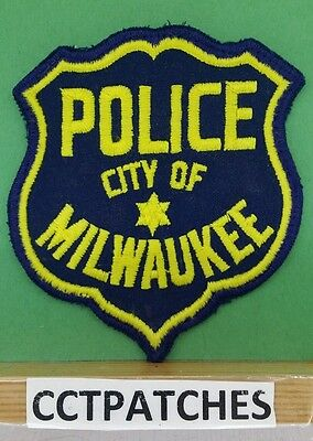City Of Milwaukee, Wisconsin Police Shoulder Patch Wi 2