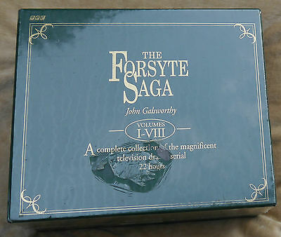Bbc Wh Smiths Classic Collection The Forsyte Saga Video Set John Galsworthy