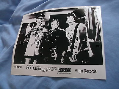 Sex Pistols The Great Rock N Roll Swindle Ronnie Biggs Punk Large Photo
