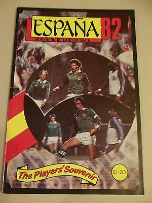 Espana 82 Northern Ireland In Spain Players Souvenir Brochure Northern Ireland