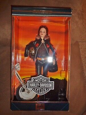 Harley Davidson Red Hair Barbie Doll 2000 #5 limited edition 29207 Mattel in Box