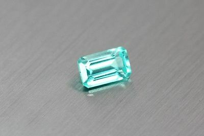 0.615 Ct 100% Natural! Excellent Cut Very Rare Blue Apatite ~Rare To Find~!!!