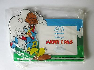 Walt Disney Picture Frame, **NEW** - Donald Duck on the Baseball Field