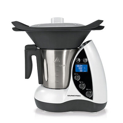 GOURMETmaxx Thermo Multi olla 9in1 Mix 1500W Robot de cocina WOW