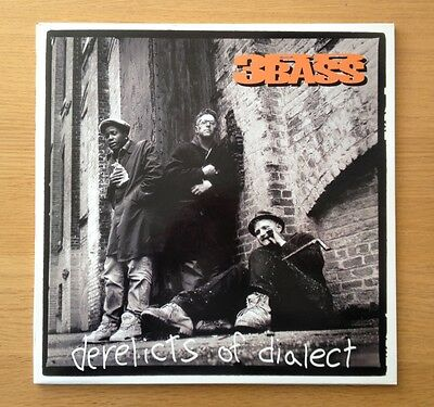 3RD BASS - Derelicts of Dialect original 2 x vinyl LP 1991