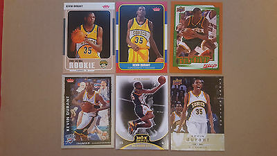 Kevin Durant LOT 17 different inserts,ROOKIE CARDS LOT!!!