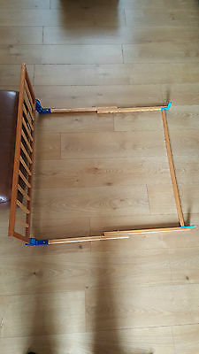 Mothercare Folding Baby Safety Wooden Bed Guard Rail