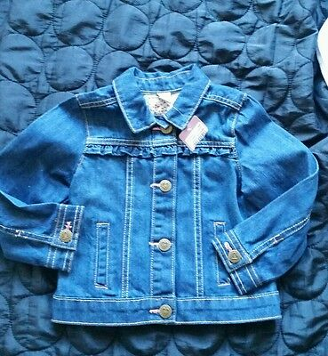 Girls jeans jacket size 1.5-2 yrs