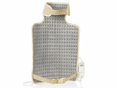 Silvercrest Neck & Back heat pad with 6 settings & Automatic power off - Cream