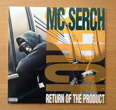MC SERCH - Return of the Product original US vinyl LP 1992