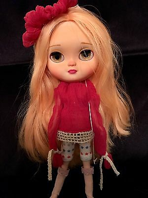 �� OOAK Icy Like Blythe Doll Really Pretty With Lovely Hair. U.K. Seller