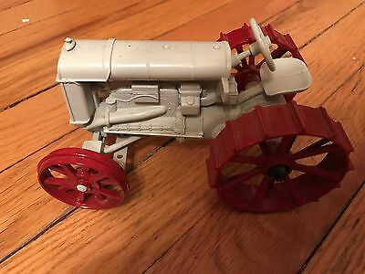 Vintage toy Fordson tractor