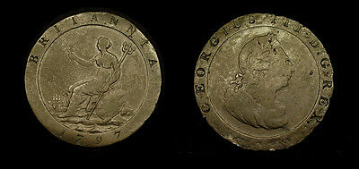Great Britain - 1797 CARTWHEEL PENNY - oz in weight