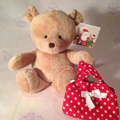 plush teddy with gift card holder