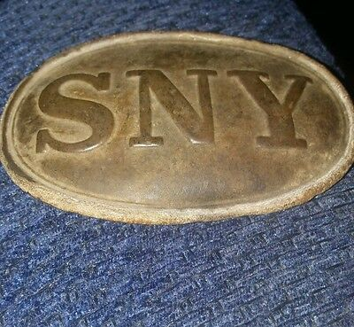 SNY Civil War Buckle Complete A Beauty