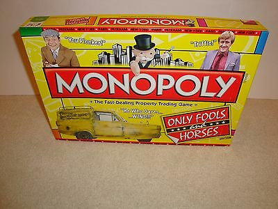 Rare Monopoly Only Fools And Horses Edition Board Game 100% Complete Played Once