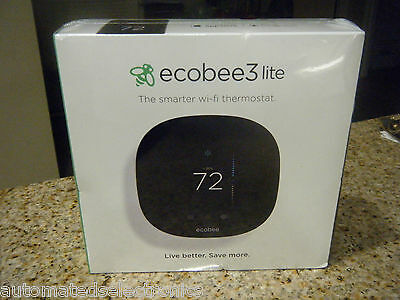 Ecobee3 Lite The Smart Wi-Fi Thermostat New Factory Sealed 2-3 Day Free Shipping