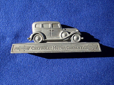 Vintage Chevrolet Dealership 1930's Desk Model