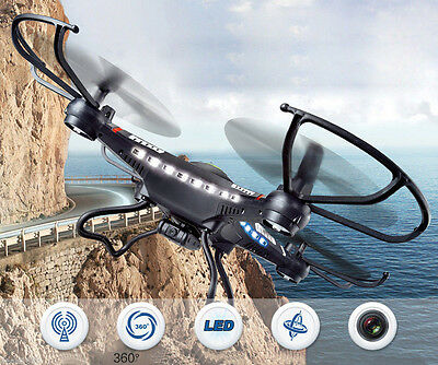 JJRC H8C/H8 2.4GHz 4CH 6-Axis Gyro RC Quadcopter Drone RTF With HD 2.0MP Camera#