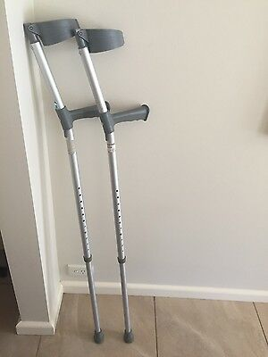 Crutches Forearm Coopers (Pair) - 180kg