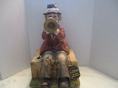 "Melody in Motion""Willie"" The Trumpet Player Hobo Animated Porcelain Musical Fig."