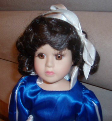 Snow White Bisque Porcelain Doll The Heritage Collection