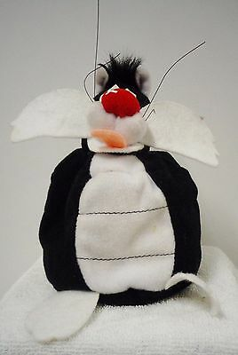 "Sylvester the Cat (Beanbag Plush) by Applause 7"" high (Pre-owned)"