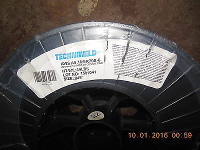 Techniweld Welding Wire Aws A5.18:er70S-6 / 44 Lbs. / Size - .045""