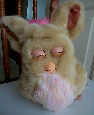 pre-loved Furby toy, working