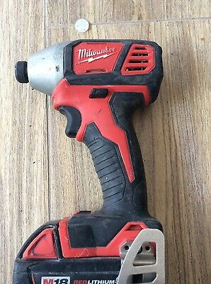 Milwaukee impact driver with 3ah M18 battery