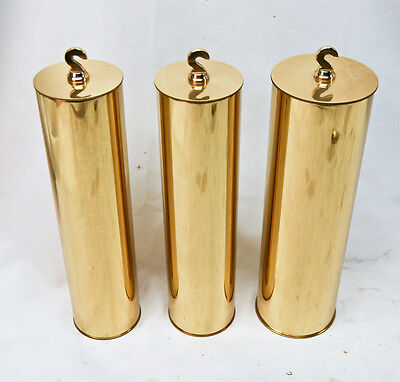 Herschede tubular bell grandfather clock set of 3 weights @ 1920s Original Nice!
