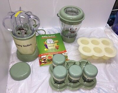 Baby Bullet Food Prep System & Storage Containers