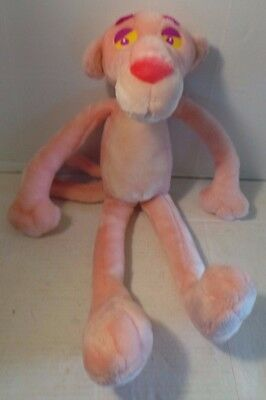 PINK PANTHER plush stuffed Kuddle Me Toys United Artists 1999 long 20 inches