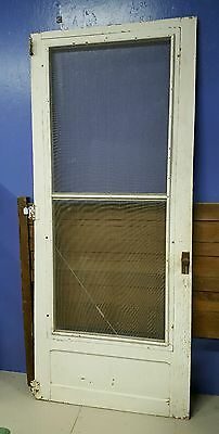 Old Vintage Wooden Screen Door Salvage- Local Pickup Only