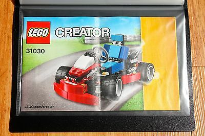 Brand New A5 Black Presentation Display Book Black For LEGO Manuals - 40 Pockets