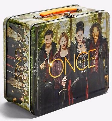 Disney/ABC Once Upon a Time Metal Tin Tote Lunch Box Brand New