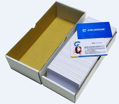 50pcs printable business card Inkjet PVC card for Epso n printer no chip card
