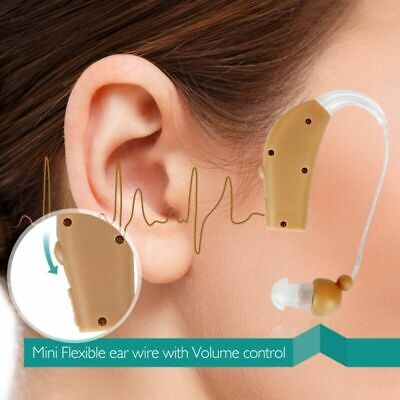 Digital Rechargeable Ear Hearing Aid BTE Ear Amplifier Assistance Device Sordos
