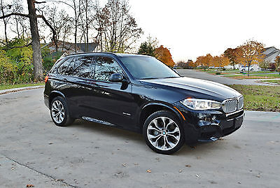 2014 BMW X5 50i M-Sport 3rd Row Seat, Tow Package X5 50i M-Sport with rare third row seat (7 PAX) and tow package. DELIVERY AVAIL