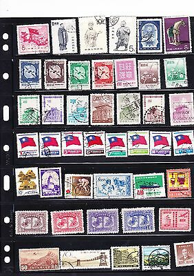 Chinese used Stamps, exotic and rare