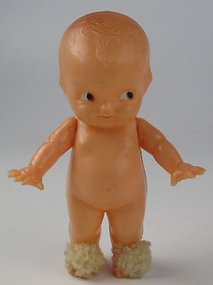 VTG Irwin Hard Plastic Kewpie Doll Baby USA Jointed