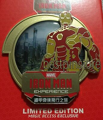 Disney pin - HKDL MA Exclusive - 2016 Marvel Iron Man Experience Pin LE500