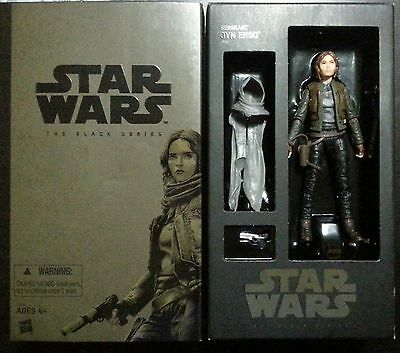 Sdcc 2016 Jyn Erso Star Wars Rogue One Black Series Hasbro Exclusive Figure