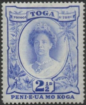 Tonga 1942 SG77 2½d Queen Salote MLH