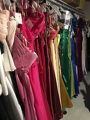 LOT of 10  Formal Evening Cocktail Designer Dresses Prom Bridesmaids Nwt New