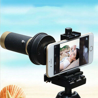 Universal Camera Adapter Spotting Scope Telescope Mount Bracket for Camera Phone