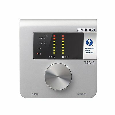 New!! ZOOM Audio Converter TAC-2 from Japan Import
