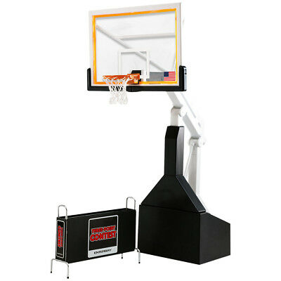 Enterbay NBA Basketball Backboard 1/9 Scale Hoop Display Stand