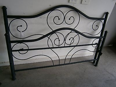 double bed cast iron