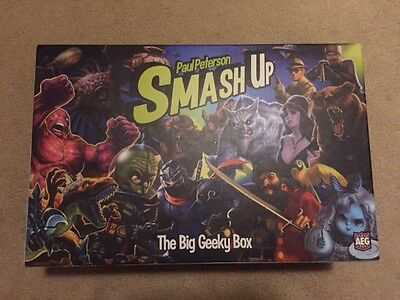 Smash Up big geeky box including 5 expansions